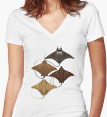 Oceanic Adventures Women's Fitted V-Neck T-Shirt