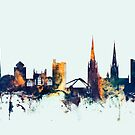 Coventry England Skyline by Michael Tompsett