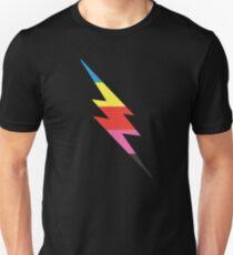Multi-Colored Lightning Bolt Unisex T-Shirt