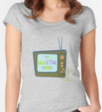 The Martini Hour Women's Fitted Scoop T-Shirt