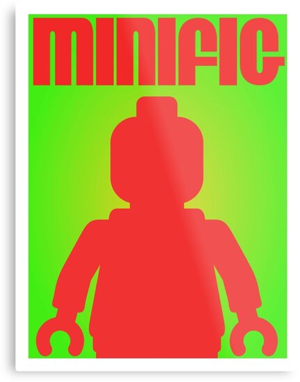 Retro Large Black Minifig  by Customize My Minifig