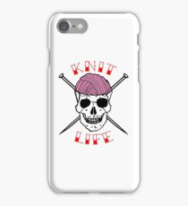 knit life iPhone Case/Skin