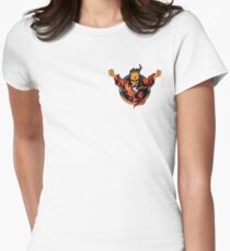 thunderdome  Womens Fitted T-Shirt