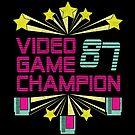 Video Game Champion 1987 : Retro Option by machmigo