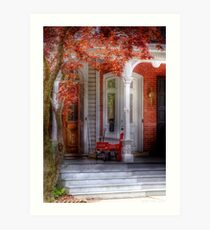 A look back in time Art Print