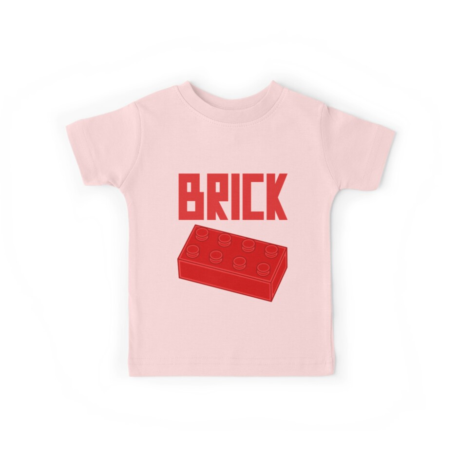 Red Brick by Customize My Minifig
