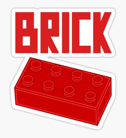 Red Brick Sticker