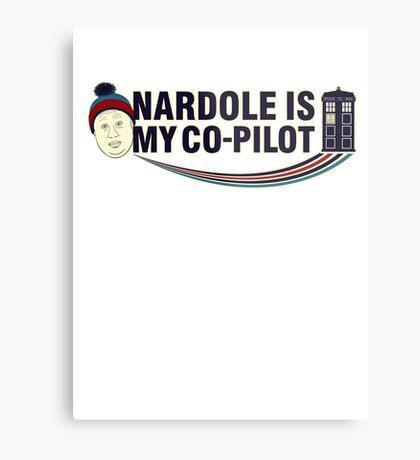 Nardole Is My Co-Pilot Metal Print