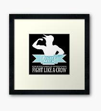 Fight Milk Framed Print