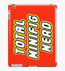 TOTAL MINIFIG NERD  iPad Case/Skin