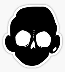 Zomboy - Black Sticker