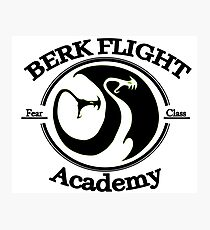 Httyd Berk Flight Academy Fear Class Photographic Print