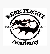Httyd Berk Flight Academy Stoker Class Photographic Print