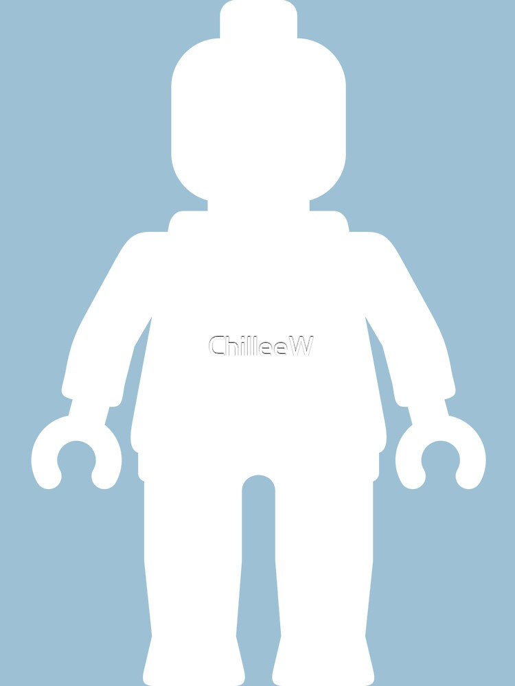 Minifig [Large White]  by ChilleeW