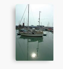 Reflections over Ramsgate Harbour Canvas Print