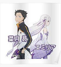 Re: Zero Hajimete Poster