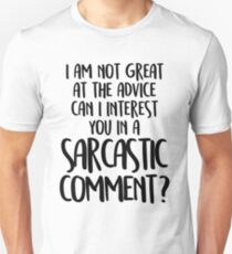 FRIENDS - Chandler Bing - Sarcastic comment T-Shirt