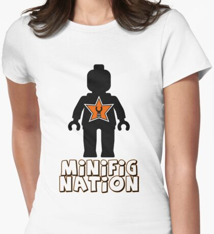 """MINIFIG NATION"" Minifig [Black]  T-Shirt"