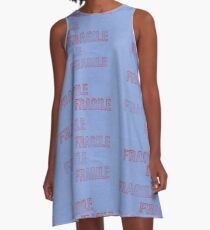 Handle With Care A-Line Dress