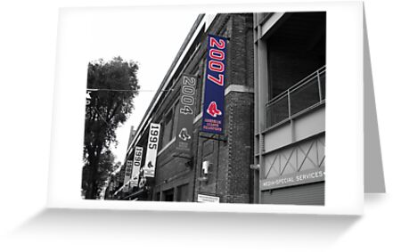 Fenway Park, Boston, MA - 2007 ALCS Championship Banner by gplus5