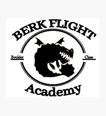 Httyd Berk Flight Academy Boulder Class Photographic Print