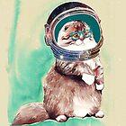 ASTRONAUT CAT by ancapora