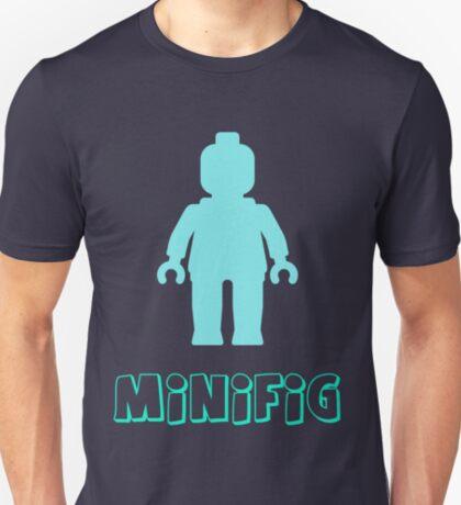 Minifig [Light Blue]  T-Shirt