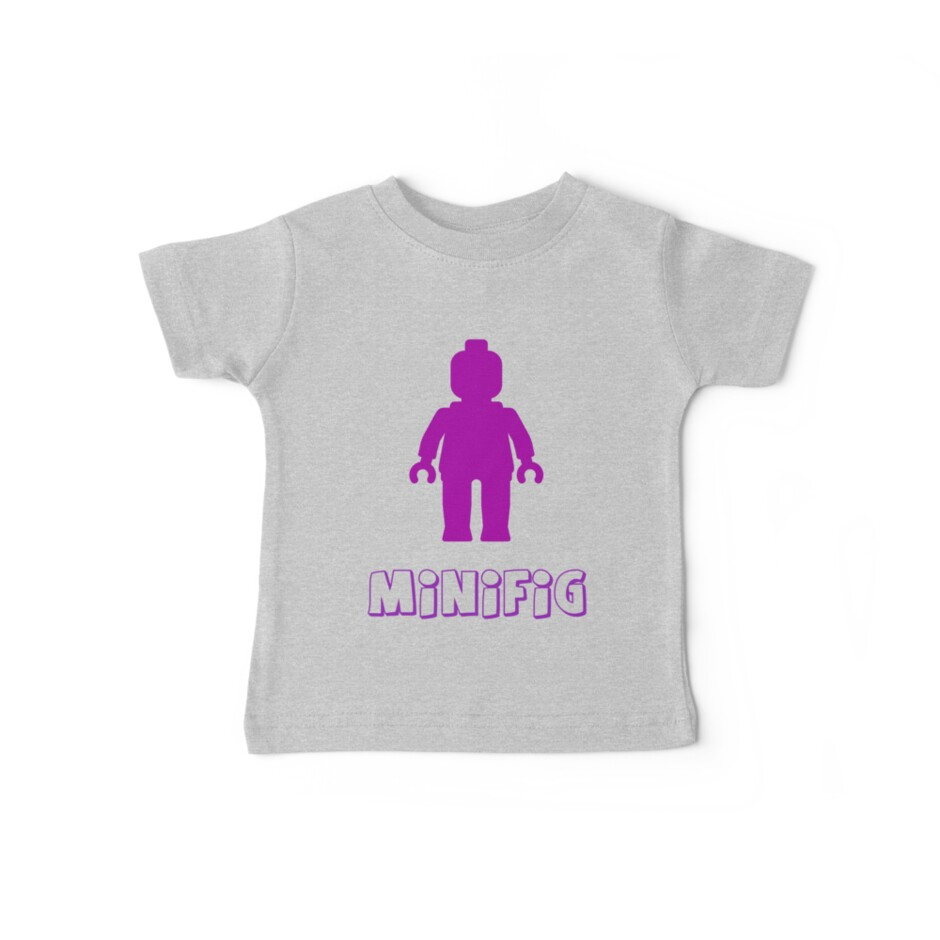 Minifig [Purple] by Customize My Minifig