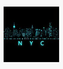 Digital Cityscape: New York City, New York Photographic Print