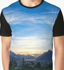 Sunset colors Graphic T-Shirt