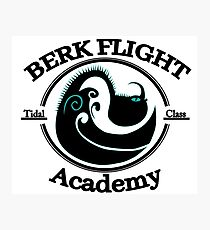 Httyd Berk Flight Academy Tidal Class Photographic Print