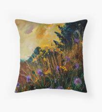 centaurées Throw Pillow