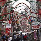 Street Festival, Little Italy, New York City   by lenspiro