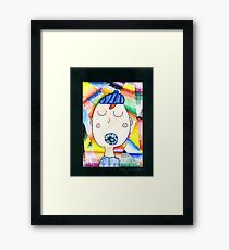 Axel - A Portrait Framed Print