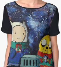 Cozy Adventure Time Women's Chiffon Top