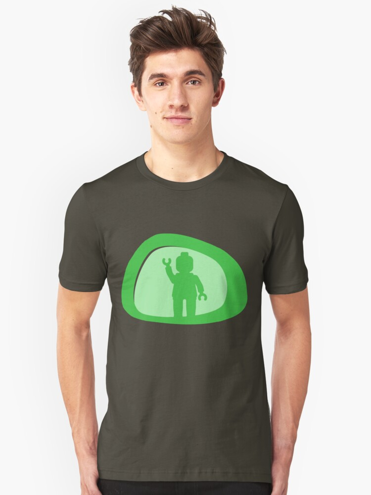 View from a Car Wing Mirror  Unisex T-Shirt Front