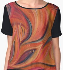 Step into my Vibrant World Chiffon Top