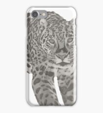 The Jaguar - Black and White  iPhone Case/Skin