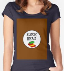 BLOCK HEAD Women's Fitted Scoop T-Shirt
