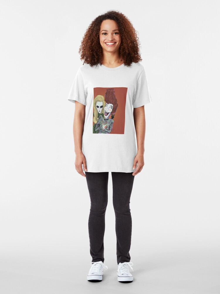 Alternate view of The Laughing Vampire Slim Fit T-Shirt