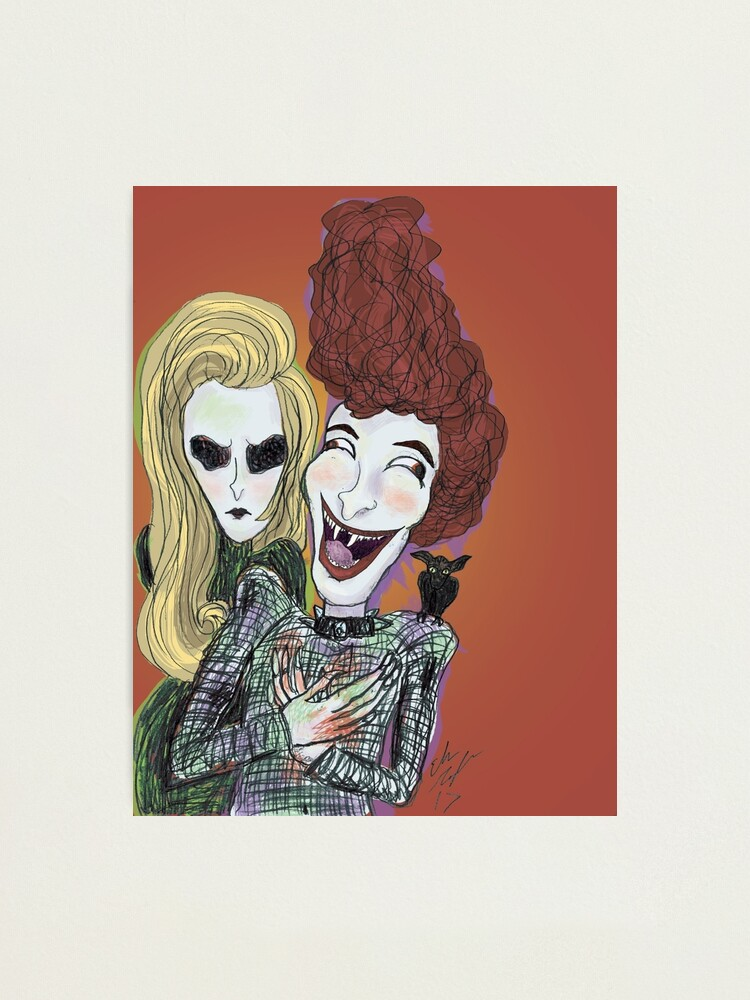Alternate view of The Laughing Vampire Photographic Print