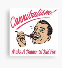 Cannibalism Canvas Print