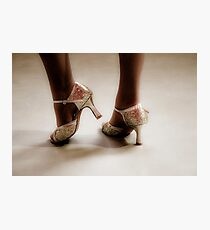 Dancing feet Photographic Print