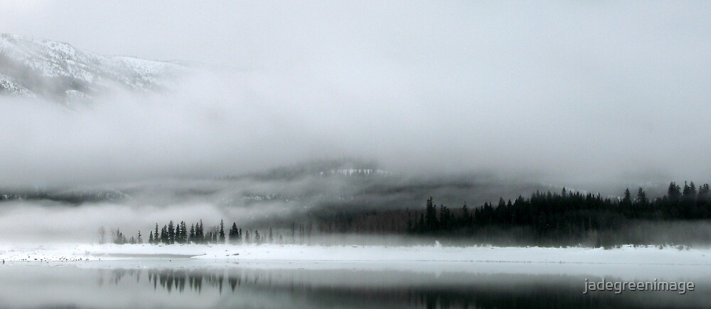 Lake Kecheelus Snow #2 by jadegreenimage