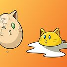 Egg Cats by Samantha Moore