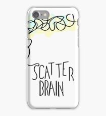 Scatter Brained iPhone Case/Skin