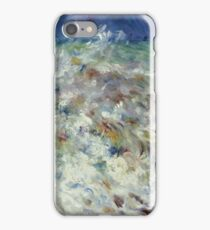 Auguste Renoir - The Wave (1882) iPhone Case/Skin