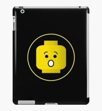 MINIFIG SHOCKED FACE  iPad Case/Skin