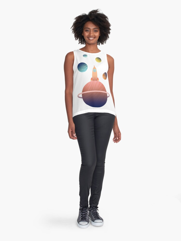 Alternate view of Into Space Sleeveless Top