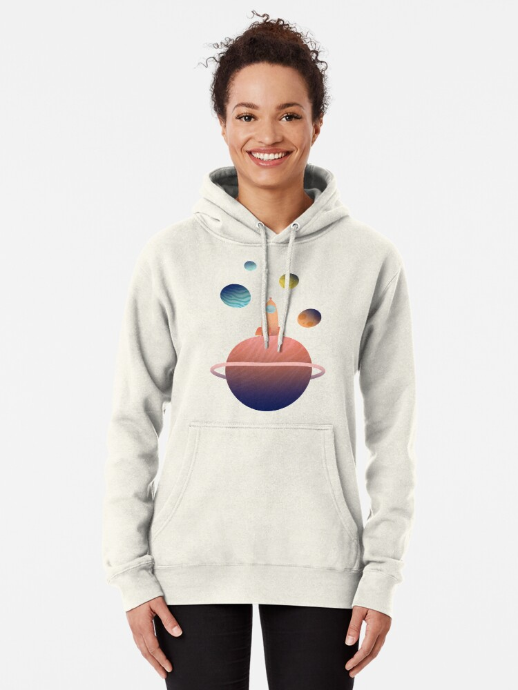 Alternate view of Into Space Pullover Hoodie